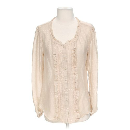 Essentials Sheer Shirt in size 10 at up to 95% Off - Swap.com