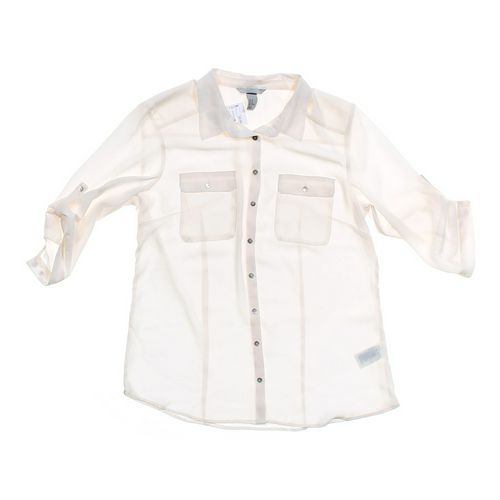 H&M Sheer Shirt in size JR 11 at up to 95% Off - Swap.com