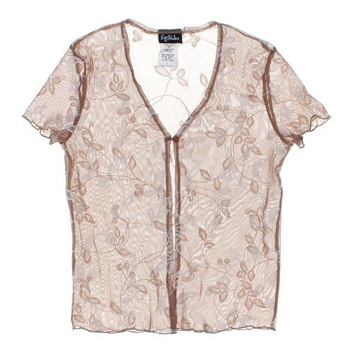 Eyeshadow Sheer Short Sleeve Cardigan in size JR 3 at up to 95% Off - Swap.com