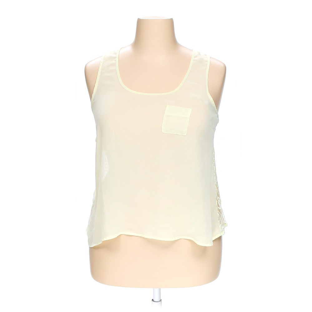 8e9f80510ee99d Eyelash Couture Sheer Sleeveless Top in size XL at up to 95% Off - Swap