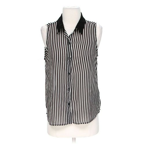 Forever 21 Sheer Striped Tank Top in size S at up to 95% Off - Swap.com