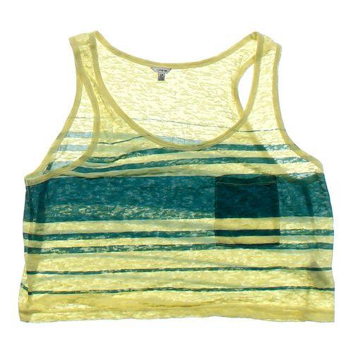 Forever 21 Sheer Tank Top in size JR 3 at up to 95% Off - Swap.com