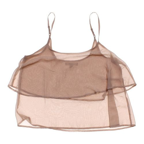 Forever 21 Sheer Tank Top in size JR 7 at up to 95% Off - Swap.com