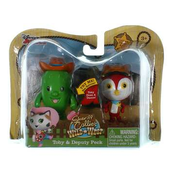 Sheriff Callie Figure 2 Pack - Toby and Peck for Sale on Swap.com