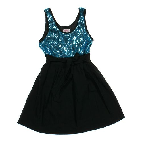 Candie's Shimmering Embellished Dress in size JR 7 at up to 95% Off - Swap.com