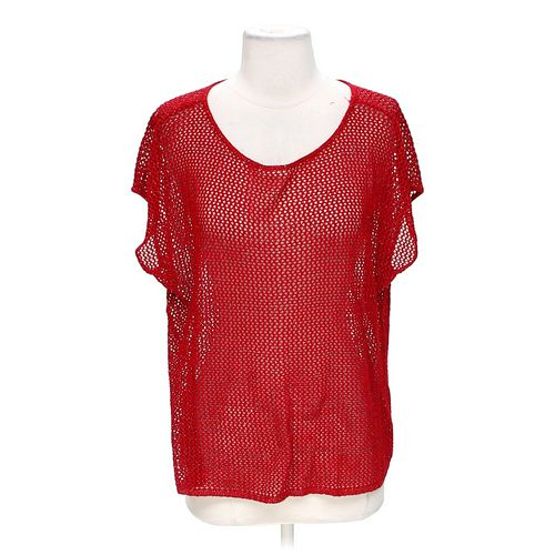 Bay Studio Shimmering Eyelet Blouse in size S at up to 95% Off - Swap.com