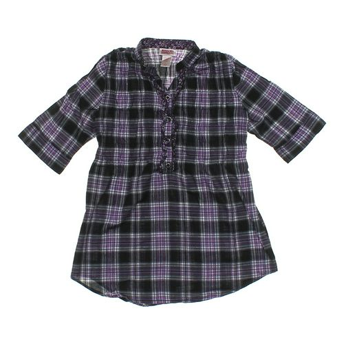 Mossimo Supply Co. Shimmering Plaid Dress in size JR 11 at up to 95% Off - Swap.com