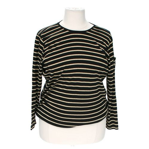 Lauren Ralph Lauren Shimmering Striped Blouse in size L at up to 95% Off - Swap.com