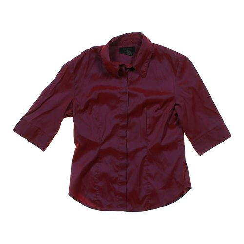 Express Shimmery Button-up Blouse in size JR 9 at up to 95% Off - Swap.com