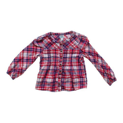 Old Navy Shimmery Button-up in size 4/4T at up to 95% Off - Swap.com