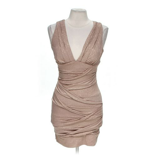 Body Central Shimmery Fitted Dress in size M at up to 95% Off - Swap.com
