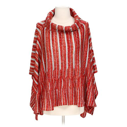 One Girl Shimmery Sweater Poncho in size S at up to 95% Off - Swap.com