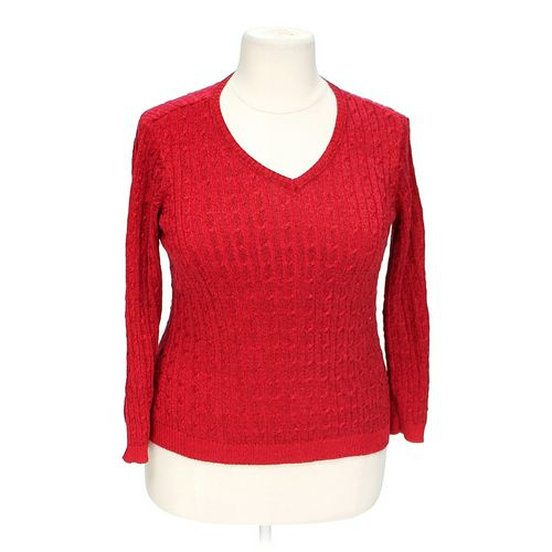 pursuits, ltd. Shimmery Sweater in size 1X at up to 95% Off - Swap.com