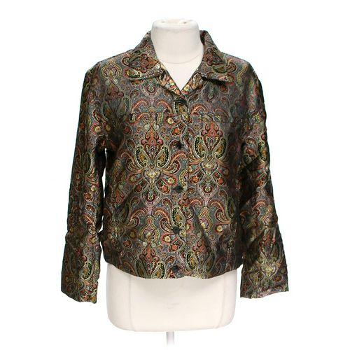Chico's Shiny Paisley Jacket in size 8 at up to 95% Off - Swap.com