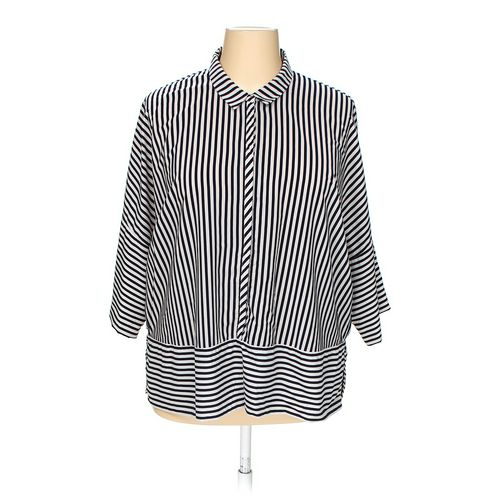 ADRIANNA PAPELL Shirt in size 1X at up to 95% Off - Swap.com