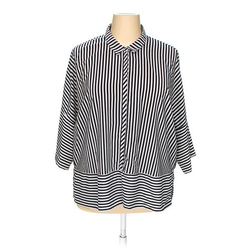 ADRIANNA PAPELL Shirt in size 2X at up to 95% Off - Swap.com