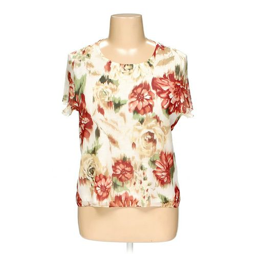 Alfred Dunner Shirt in size L at up to 95% Off - Swap.com