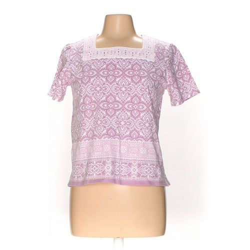 Alfred Dunner Shirt in size M at up to 95% Off - Swap.com