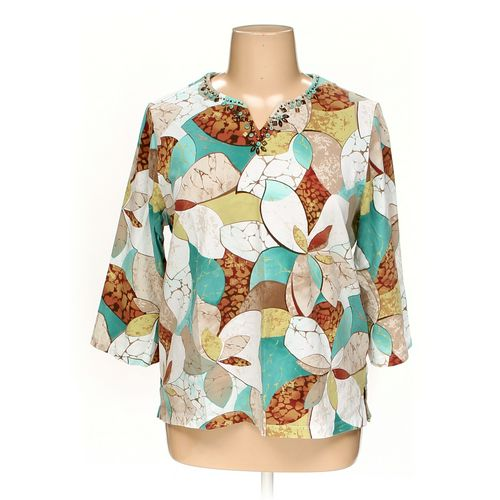 Alfred Dunner Shirt in size 1X at up to 95% Off - Swap.com