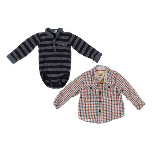 Genuine Kids from OshKosh Shirt & Bodysuit Set in size 18 mo at up to 95% Off - Swap.com