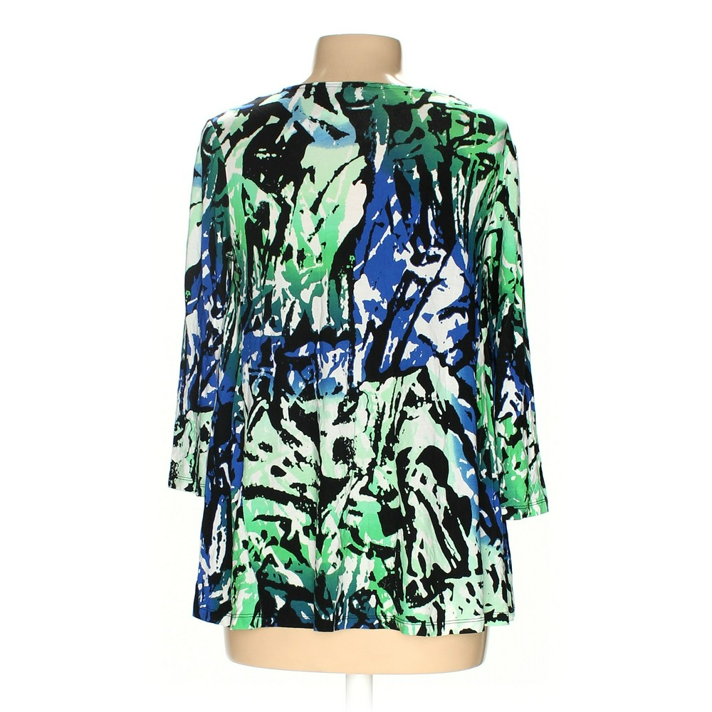 978d9d1112b798 Dana Buchman Shirt in size M at up to 95% Off - Swap.com. M. Photo is of  the actual item. Women's ...