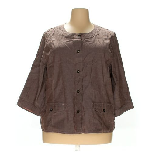 Denim & Co. Shirt in size 2X at up to 95% Off - Swap.com