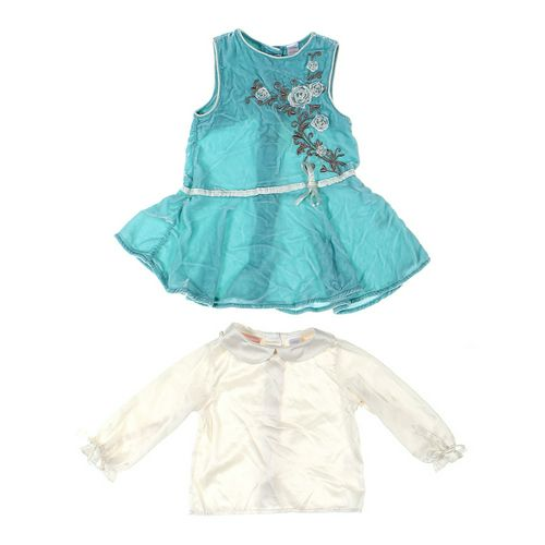 First Impressions Shirt & Dress Set in size 12 mo at up to 95% Off - Swap.com