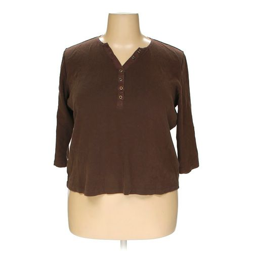 dressbarn Shirt in size 18 at up to 95% Off - Swap.com