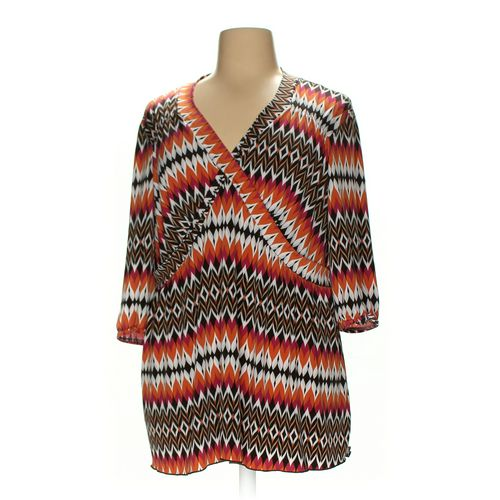 dressbarn Shirt in size 3X at up to 95% Off - Swap.com
