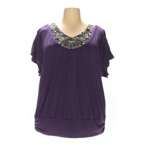 Fashion Bug Shirt in size 2X at up to 95% Off - Swap.com
