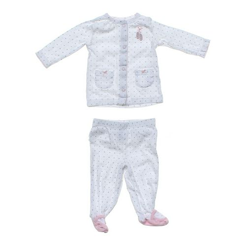 Carter's Shirt & Footed Pants Set in size 3 mo at up to 95% Off - Swap.com