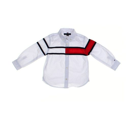 Tommy Hilfiger Shirt in size 24 mo at up to 95% Off - Swap.com