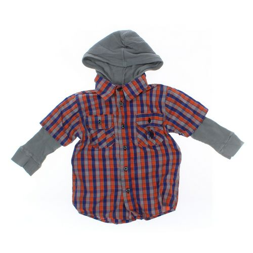 U.S. Polo Assn. Shirt in size 2/2T at up to 95% Off - Swap.com