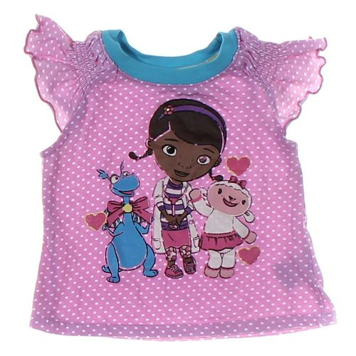 Doc Mc.Stuffins Shirt in size 24 mo at up to 95% Off - Swap.com