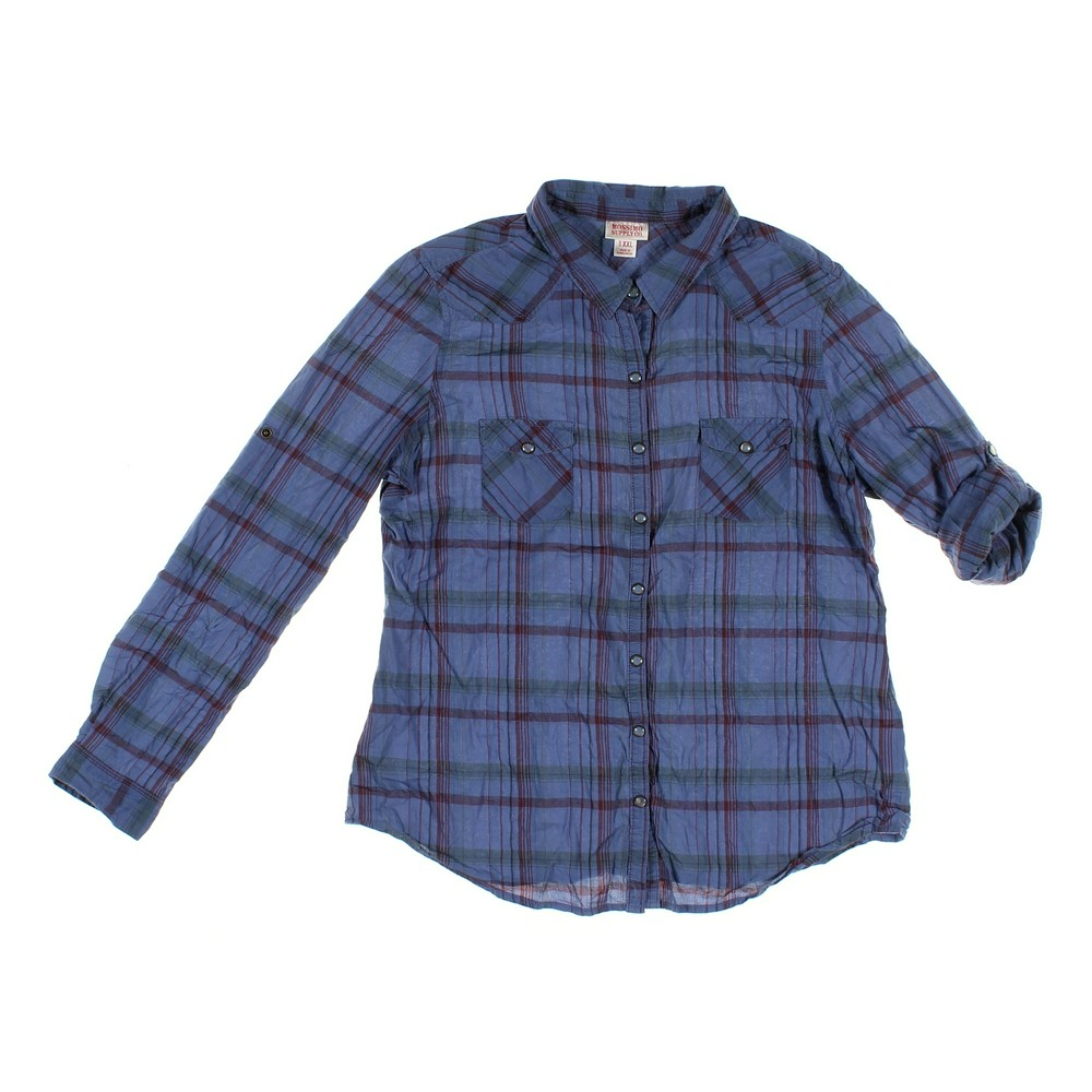 be2e784ac681e1 Mossimo Supply Co. Shirt in size JR 17 at up to 95% Off -