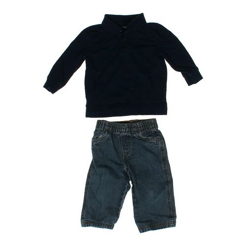 Cherokee Shirt & Jeans Set in size 12 mo at up to 95% Off - Swap.com