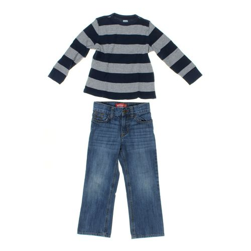 Old Navy Shirt & Jeans Set in size 5/5T at up to 95% Off - Swap.com