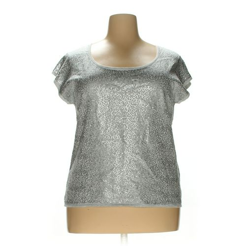 Joan Vass Shirt in size 2X at up to 95% Off - Swap.com