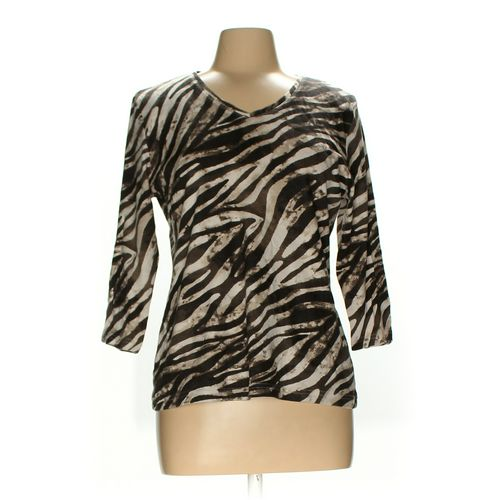 Karen Scott Shirt in size M at up to 95% Off - Swap.com