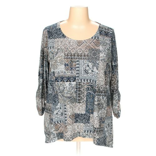Kim Rogers Shirt in size 2X at up to 95% Off - Swap.com