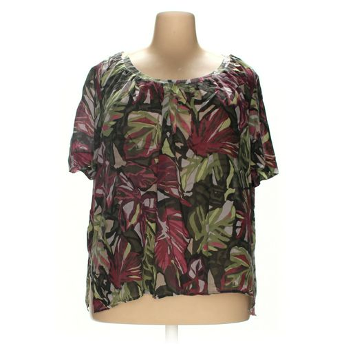 Liz Claiborne Shirt in size 2X at up to 95% Off - Swap.com