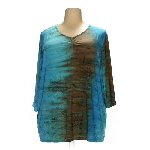 Liz & Me Shirt in size 3X at up to 95% Off - Swap.com