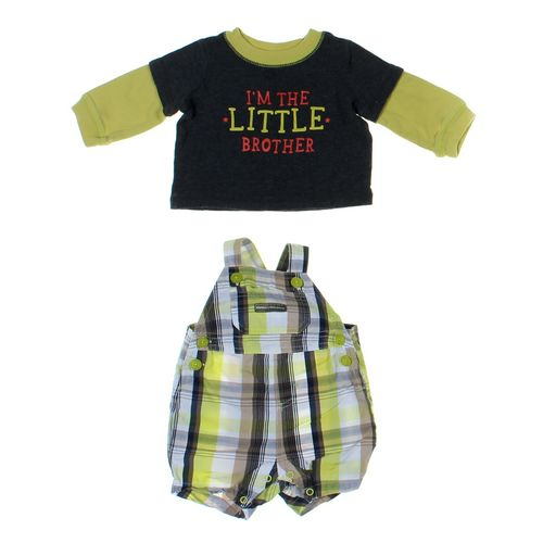 Small Wonders Shirt & Overalls Set in size NB at up to 95% Off - Swap.com