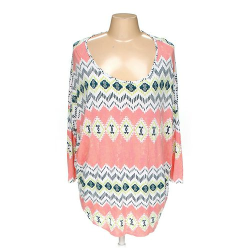Peach Love Cream Shirt in size L at up to 95% Off - Swap.com