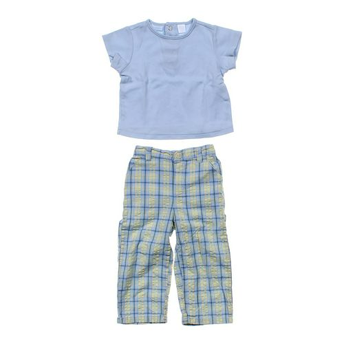 B.T. Kids Shirt & Plaid Pants Set in size 18 mo at up to 95% Off - Swap.com