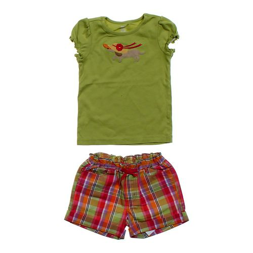 Gymboree Shirt & Plaid Shorts Set in size 4/4T at up to 95% Off - Swap.com