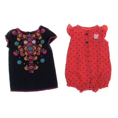 Genuine Kids from OshKosh Shirt & Romper Set in size 18 mo at up to 95% Off - Swap.com
