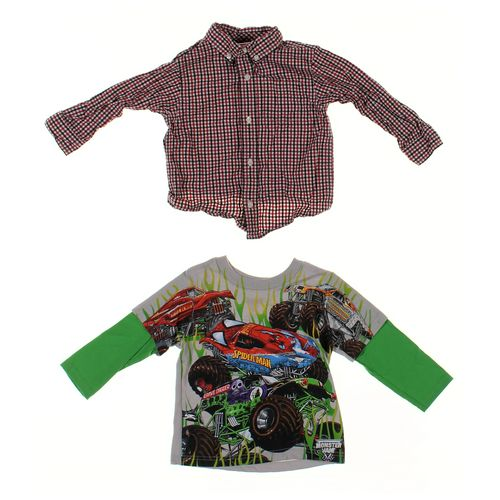 Monster Jams Shirt Set in size 2/2T at up to 95% Off - Swap.com