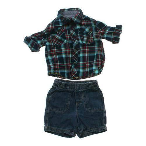 Genuine Kids from OshKosh Shirt & Shorts Set in size 12 mo at up to 95% Off - Swap.com