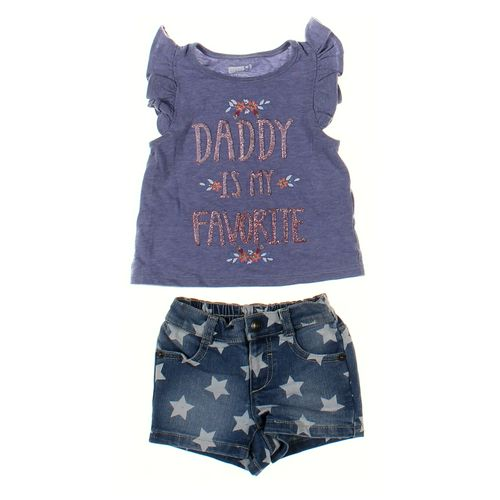 Crazy 8 Shirt & Shorts Set in size 6 mo at up to 95% Off - Swap.com